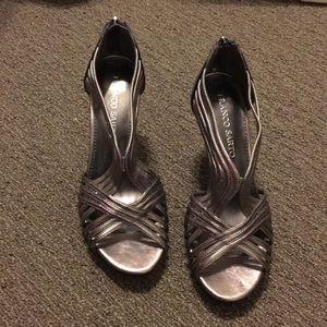 Franco Sarto: Size 8 Silver Heels